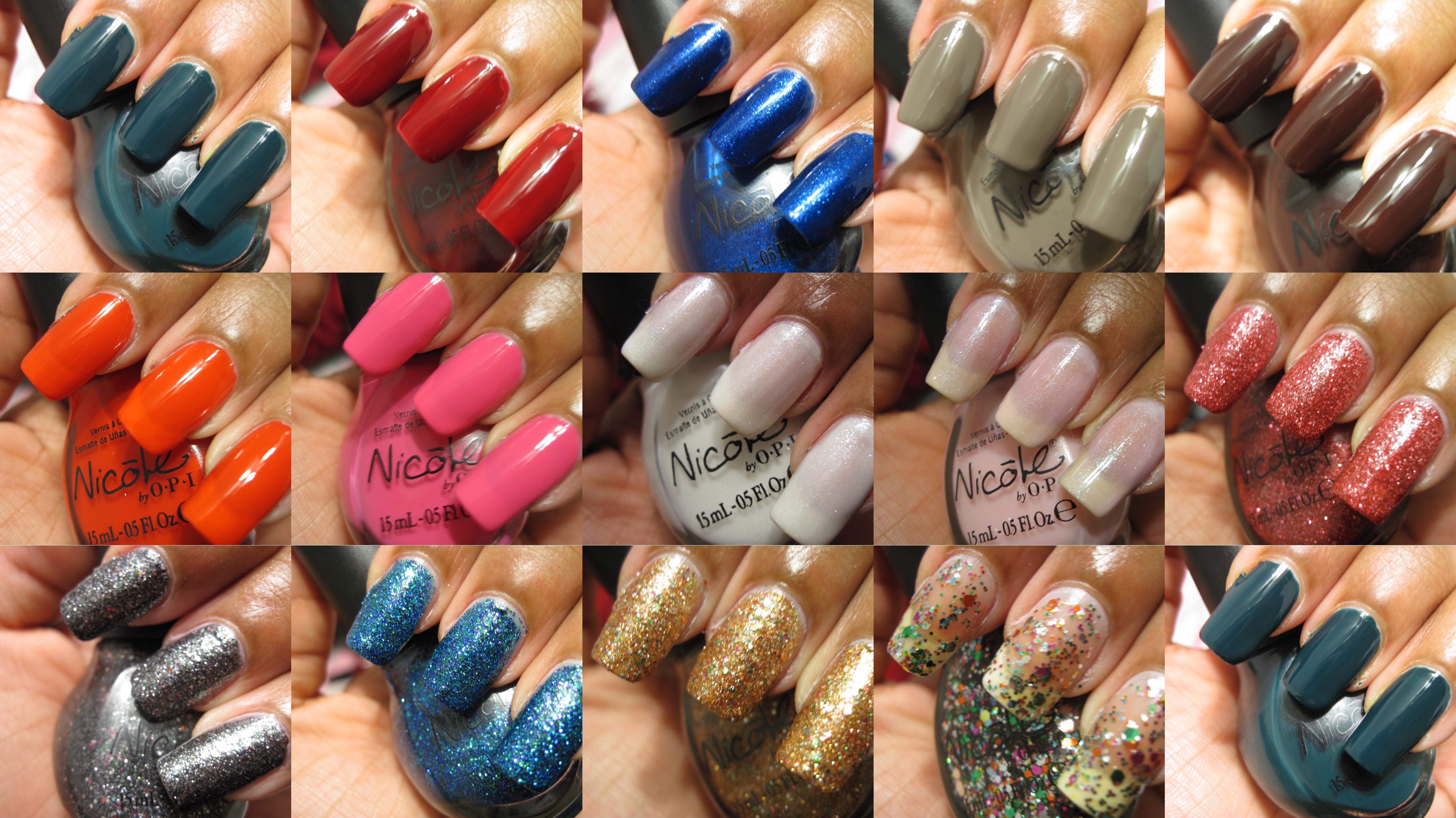 Colorful Kardashian Nail Polish Line Ensign - Nail Art Design Ideas ...
